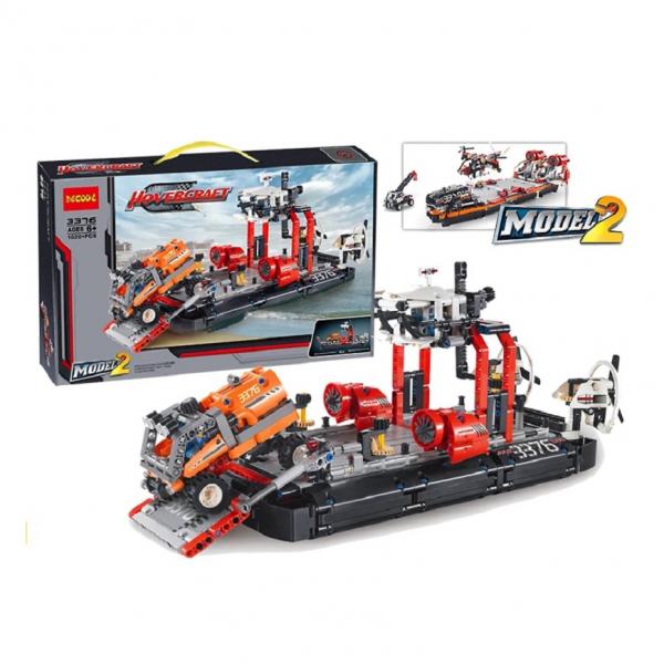 DECOOL Technic 3376 HoverCraft Lego KW