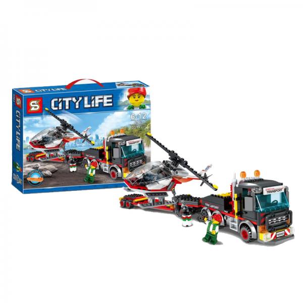 SY City 6963 Heavy Cargo Transport Lego KW