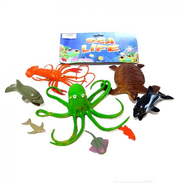Hewan Laut Karet Sea Life