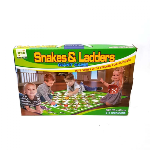 Snake & Ladders Giant Ular Tangga Family Game 1384