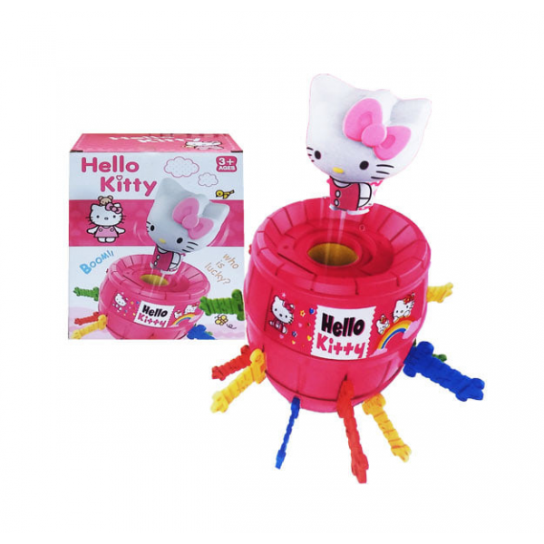 Mainan Running Man Hello Kitty Pirate Barrel