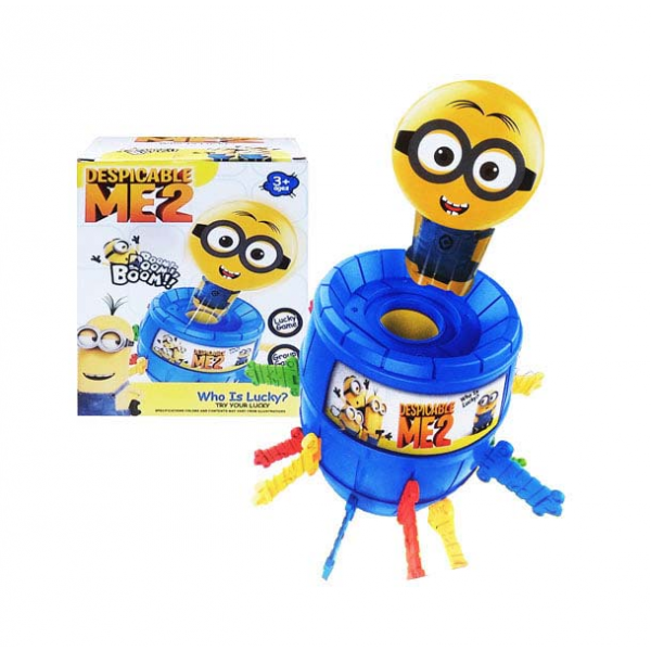 Mainan Running Man Minions Pirate Barrel