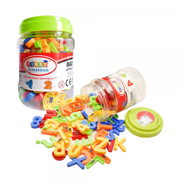 Mainan Edukasi Magnetic Letters and Numbers