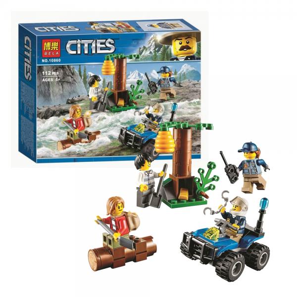 BELA City 10860 Mountain Fugitives Lego KW