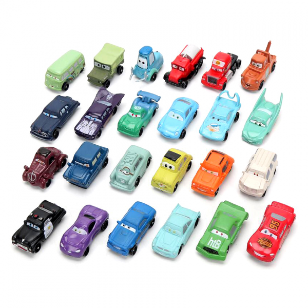 Die Cast Cars 3 isi 24pcs