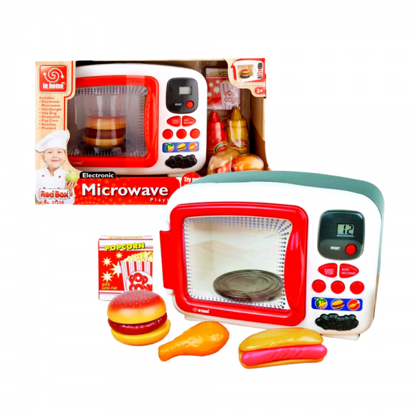 Redbox Electronic Microwave Kitchen Set