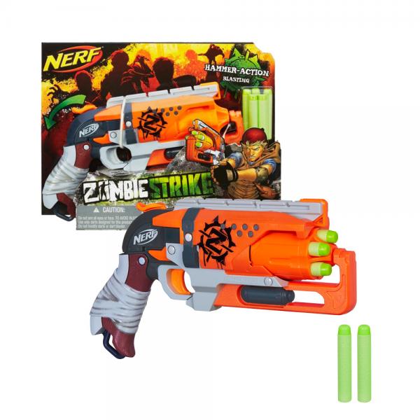 Nerf Zombie Strike Hammershot Original
