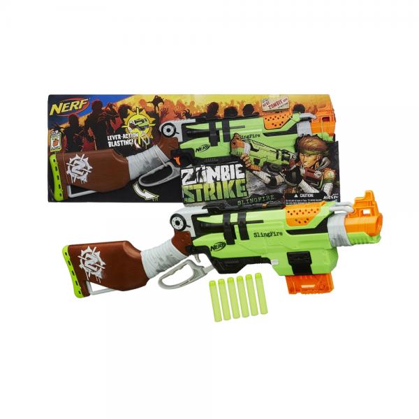 Nerf Zombie Strike SlingFire Blaster Original