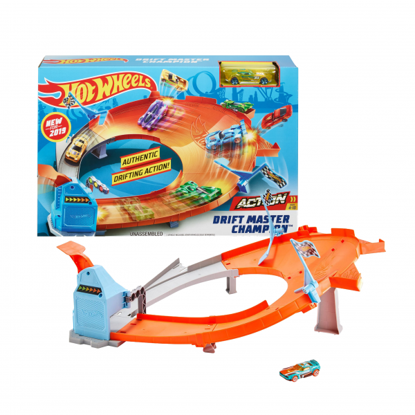Hot Wheels Drift Master Champion Track Playset