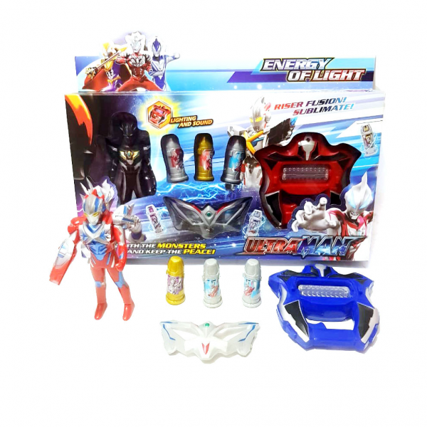 Figure Ultraman Ultra Capsule dan Senjata Riser No.HF000-4
