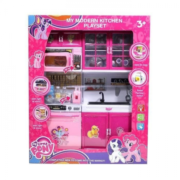 Modern Kitchen Set My Little Pony