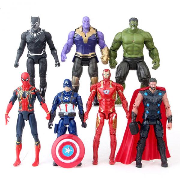 Figure Avengers Infinity War isi 7 pcs