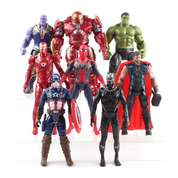 Figure Avengers Infinity War isi 8 pcs