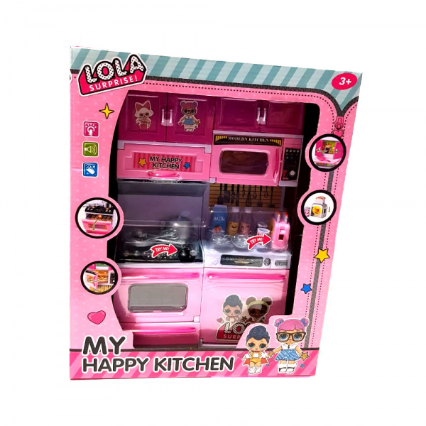 Modern Kitchen Set LOL Surprise