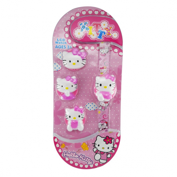 Jam Tangan Mainan Anak Hello Kitty