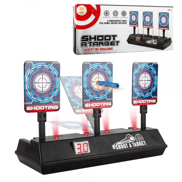 Shoot A Target Nerf Electronic Score Papan Sasaran