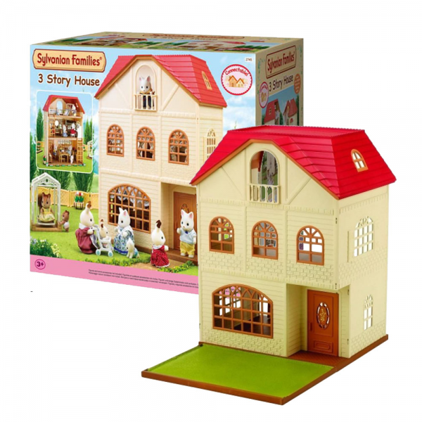 Sylvanian Families 3 Story House