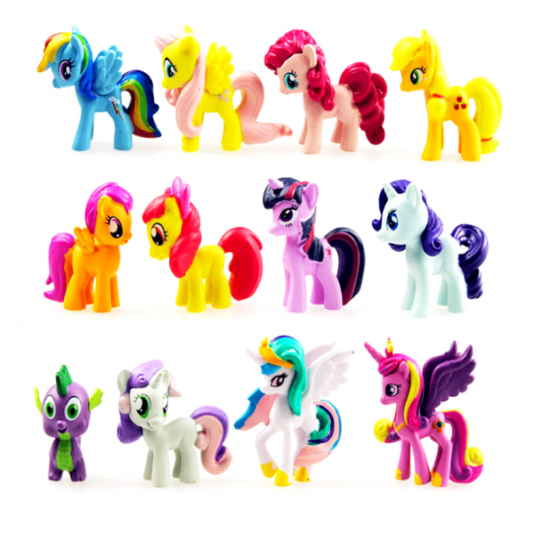 Figure My Little Pony isi 12 pcs