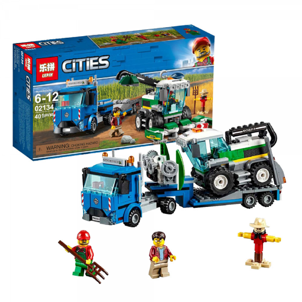 LEPIN City 02134 Harvester Transport Lego KW 60223