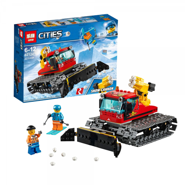 LEPIN City 02124 Snow Groomer Lego KW 60222