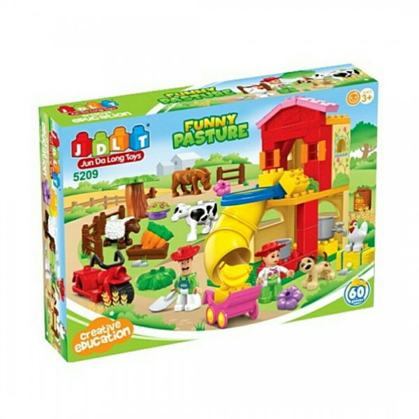 JDLT 5209 Farm Frenzy Ranch Lego Duplo