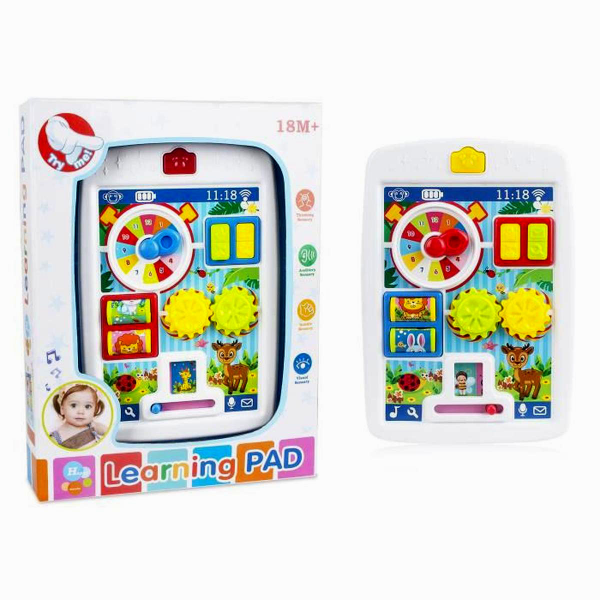 Learning Touch Pad Baby Toys with Sparkle Lights and Sounds 65080