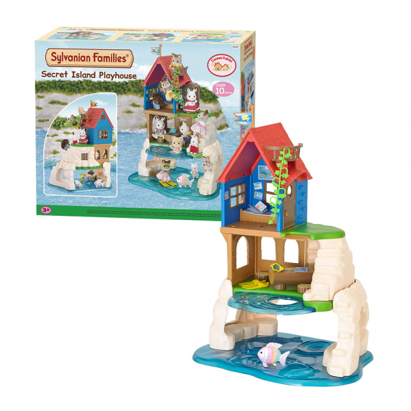 Sylvanian Families - Secret Island Playhouse Set
