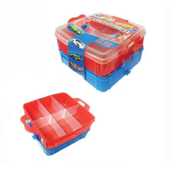 Koper Carry Case Container Hot Wheels Die Cast isi 12pcs