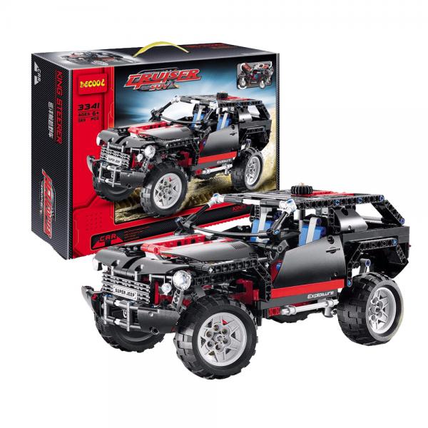 DECOOL Technic 3341 Extreme Cruiser Lego KW 8081