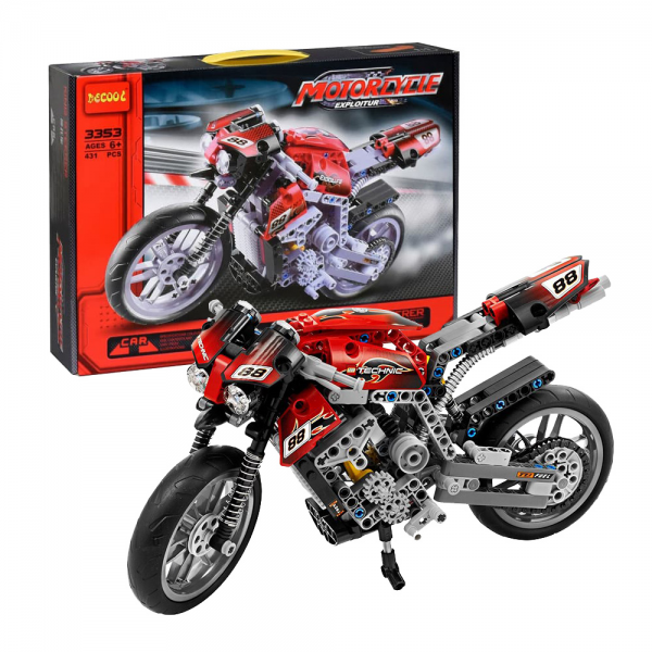 Decool Technic 3353 Motorbike Lego KW 8051