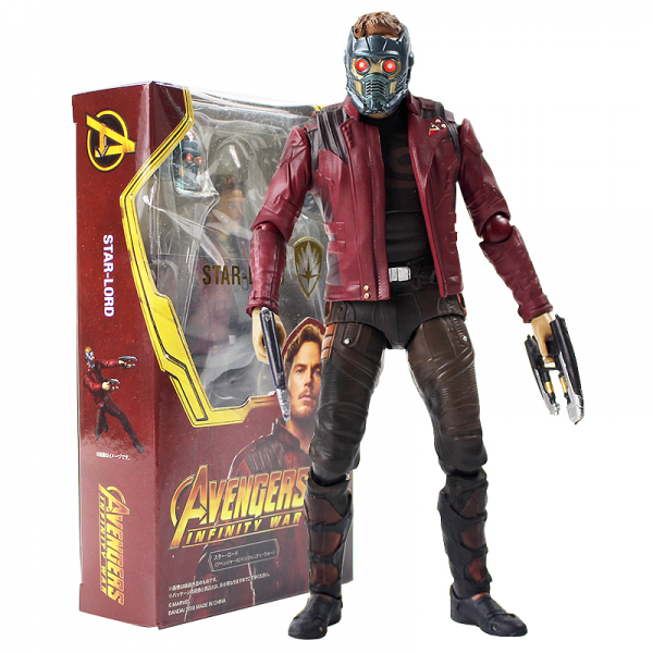 SH Figuarts SHF Star Lord Guardians of The Galaxy
