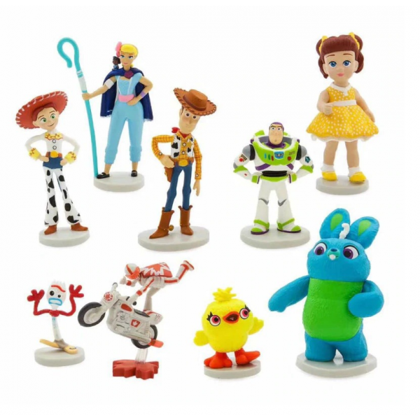 Figure Toy Story 4 isi 9pcs