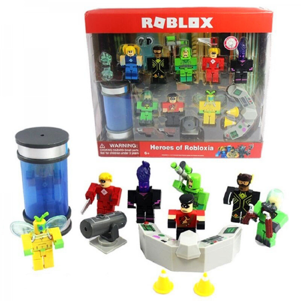 Figure Roblox Heroes of Robloxia Laboratorium