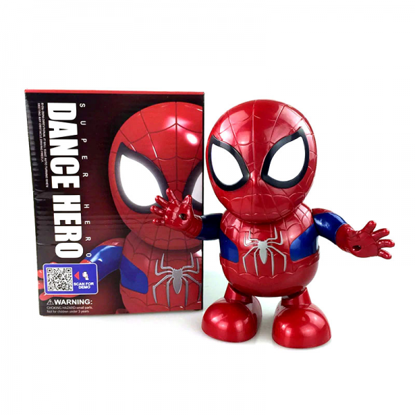 Spiderman Smart Dance Robot