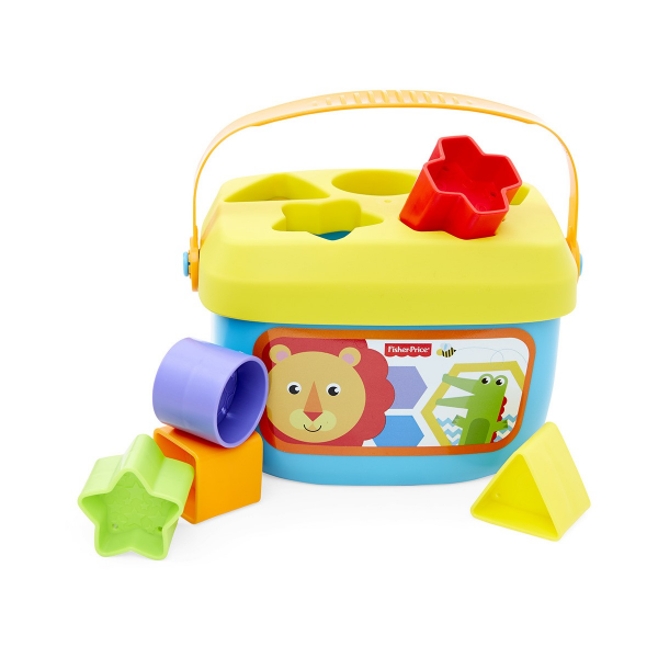 Fisher-Price Baby's First Blocks with Storage Bucket