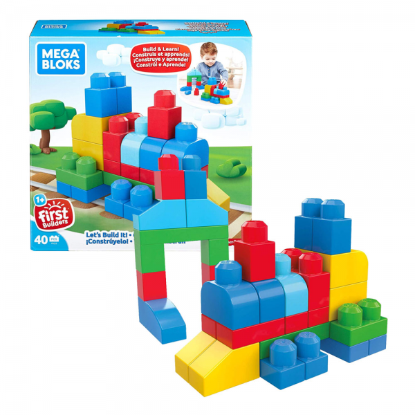 Mega Bloks Let's Build It