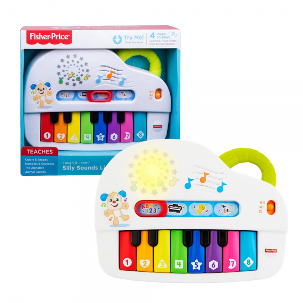 Fisher-Price Laugh & Learn Silly Sounds Light-up Piano