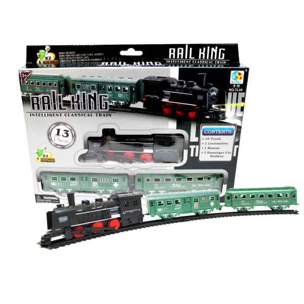 Rail King Intelligent Classical Train 13 Pcs