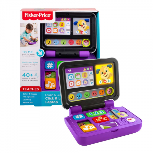 Fisher-Price Laugh & Learn Click & Learn Laptop