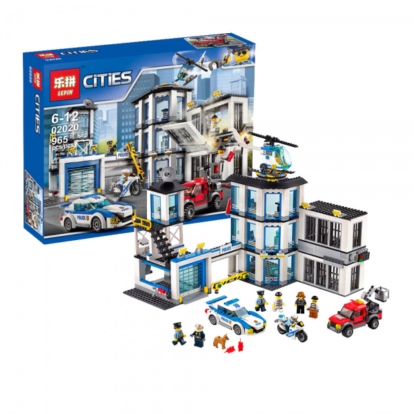 LEPIN 02020 Police Station Lego KW 60141