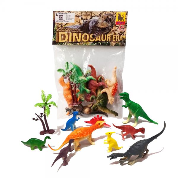 Figure Binatang Dinosaur Era isi 7pcs
