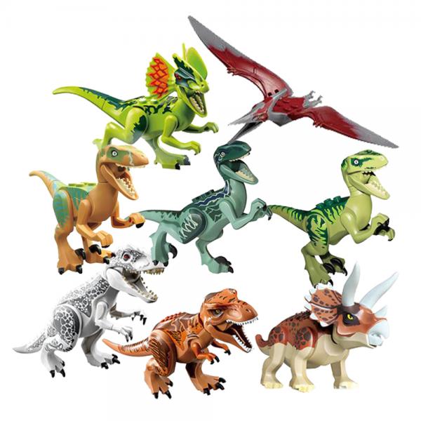 8in1 Dino Blocks Jurassic Century 77037 Lego KW