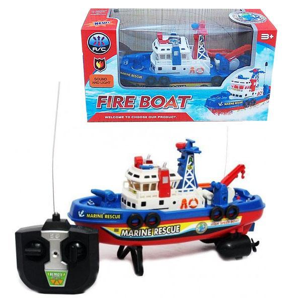 RC Fire Marine Rescue Boat