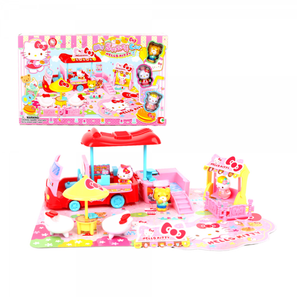 Figure Hello Kitty My Snack Car Playset