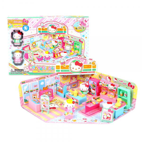 Figure Hello Kitty Convenience Store Playset