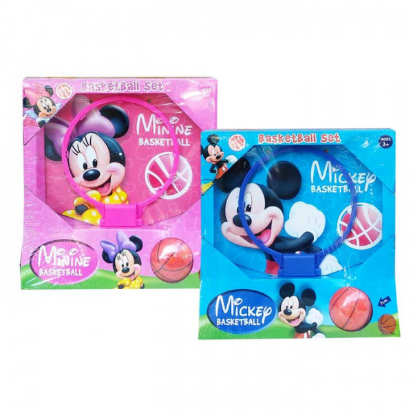 Disney Mickey / Minnie Basketball Set