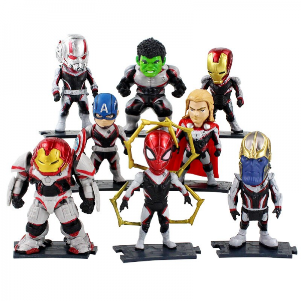 Figure Avengers End Game Set A isi 8 pcs