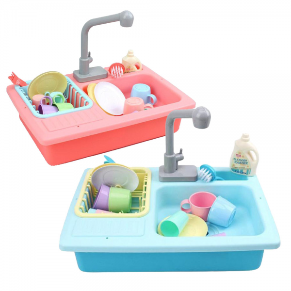 Wash-Up Kitchen Sink Wastafel Tempat Cuci Piring Playset