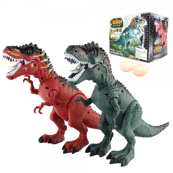 Electric Robot Dinosaurus T-Rex and Egg With Projector Dino Valley