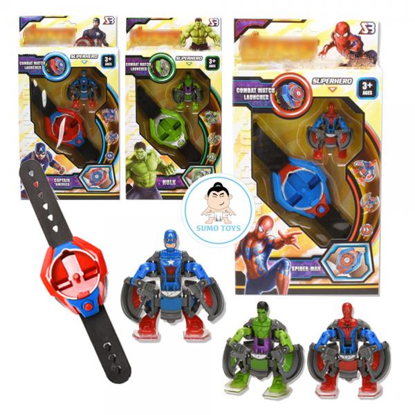 Jam Tangan Anak Robot Avengers